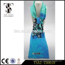 Diferentes dimensiones de la pelota de Corea del patrón de mercado bufanda de seda popular