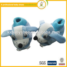 2015 new style handmade lovely animal plush cotton-padded cheap newborn baby shoes winter