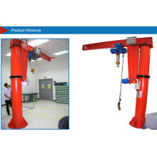 Floor Mounted Jib Crane, 360 Degree Pneumatic Overhead Bridge Jib Crane, Industry Crane