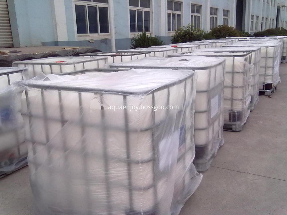 Polyamine for potable water treatment