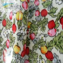 PVC laminado impreso a algodón poliéster TC tela de tapicería