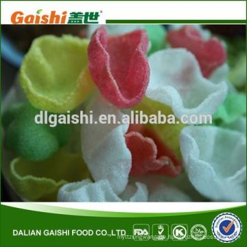 Seetang Snack getrocknet Multi Farbe Vietnam Multi Farbe Garnelen Cracker Hersteller