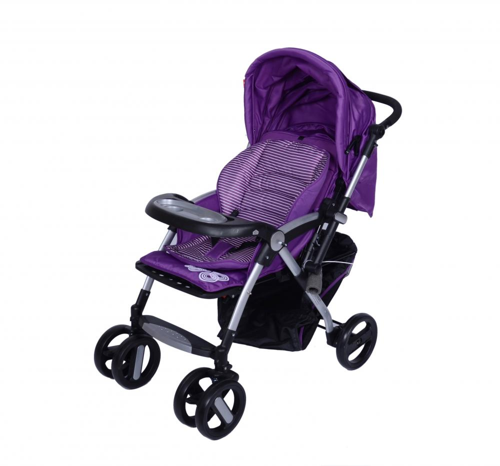 Plastic Baby Stroller with Whole Canopy