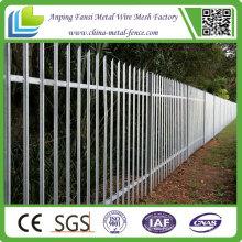 Heiß getaucht Galvanisierter Stahl Palisade Zaun zum Verkauf