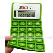 Calculadora plegable del silicio de la energía dual de 8 dígitos con el imán (LC525A)