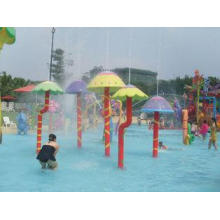 Colorful Water Mushroom Group for Water Park Kids Play Pool