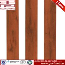 Nueva pruduct 150X900 naranjas azulejo de madera de aspecto de cerámica para la sala de estar
