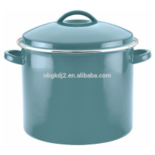 bunte Porzellan Emaille 16 Quart Covered Stock Topf bunte Porzellan Emaille 16 Quart Covered Stock Pot