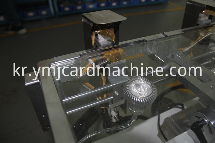 Detail of Smart Card Manual Welding Machine