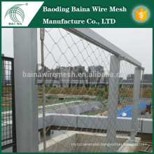 stainless steel wire mesh fabricator/inox rope mesh