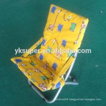 Custom OEM steel tube metal lounge folding sun chair