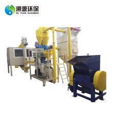 Línea de producción de reciclaje de plástico y aluminio