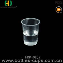 Disposable Custom Printed Clear Milkshake / Smoothie / Juice / Slush Plastic Cup (HDP-0257)