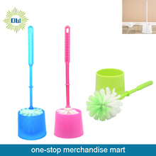Dollar Items of Plastic Toilet Brush with Holder