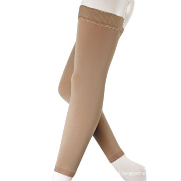 High quality stockings women compression silicone sleeve thigh high for medical