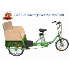 Three Wheel Tricycle Rickshaw Electric Pedicab (FP-ETR001)