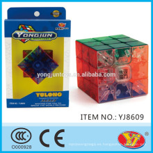 2016 Nuevo YongJun transparente Yulong cubo educativo rompecabezas 3D