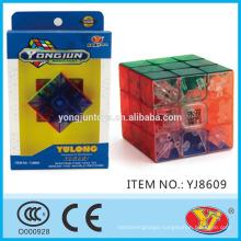 2016 New Transparent YongJun Yulong Cube Educational 3D Puzzles