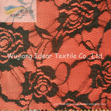 Lace Fabric Bonded With Polyester Fabric For Women Dress