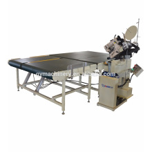 máquina de costura de borda de fita de colchão de alta velocidade com velocidade de canto auto desacelerar