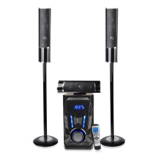 Tower speaker with mic karaoke subwoofer