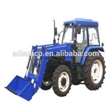 Trator de agricultura 754 com carregador frontal