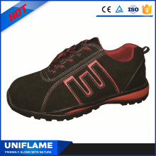 Middle Cut Fashionable Antistatic Rubber Safety Shoes