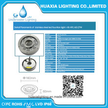 Ce RoHS 316 Stainless Steel Fountain LED Underwater Light