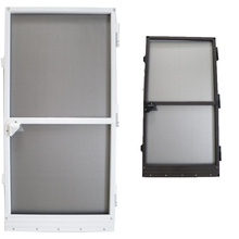 Best quality and factory for Frame Insect Screen Door Aluminum Fixed Frame Fly Screen Porta Hinged Door export to Fiji Exporter