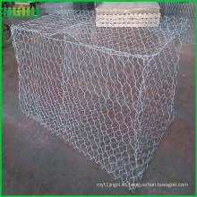 Gabions tejidos revestidos plásticos de la alta calidad (malla de alambre de Gabions)