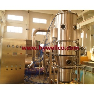 Granulator Bed Dryer Fluidized