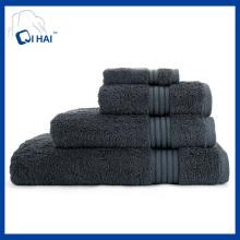 Ensembles de serviettes de bain en couleurs simples (QHD55909)
