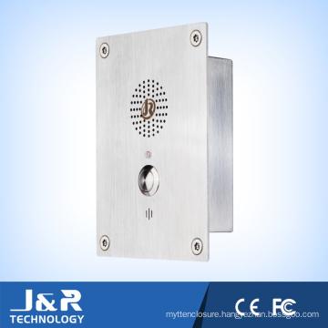 VoIP Hands-Free Elevator Telephone, SIP Emergency Vandal Resistant Intercom Phone