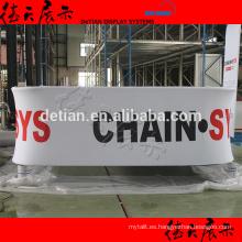 Hermosa muestra de exposición colgante de la fábrica de shanghai