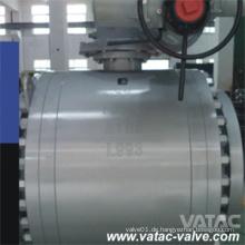 Hoher Druck elektrischer Betätiger Trunnion montiertes Kugelventil