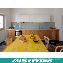 Veneer Kitchen Cabinets Furniture with Handle (AIS-K341)
