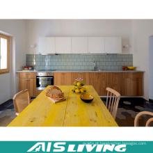 Móveis armários de cozinha folheado com alça (AIS-K341)