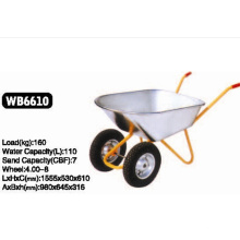 Vous avez besoin de doubles roues de brouette Wb6610