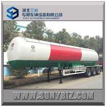 Chine 3 essieux GPL / carburant liquide essence Transport GPL