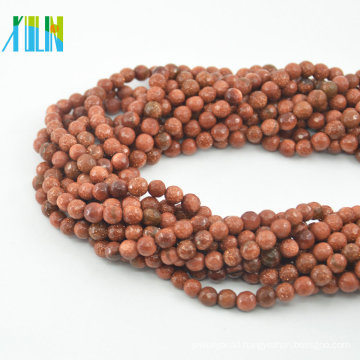 Top quality shiny synthetic gemstone round beads