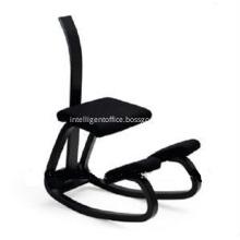 Wooden Ergonomics Kneeling Chair With Backrest