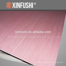 Engineered economical sapele veneer faced 5.2mm plywood