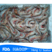 HL002 wild flash seafood frozen red shrimp(size 30/50 50/70)