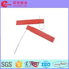 Código de barras dos selos de cabo do selo RFID do fio para o transitário