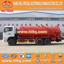 DONGFENG 6x4 16000L Abwasserkraftwagen CUMMINS Motor B210 33 210hp