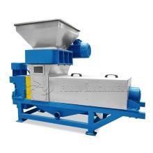 CE certificate hemp leaves dewatering machine/alfalfa grass extruder dewatering machine