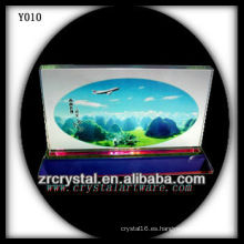 Colorful Print Photo Crystal Y010