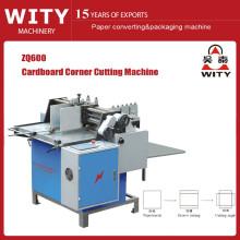 Máquina de cortar la esquina de la caja de cartón