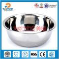 polishing stainless steel fruit bowl