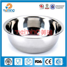 polishing stainless steel fruit bowl